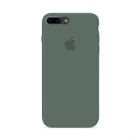 Силиконовый чехол Apple Silicone Case Pine Green для iPhone 7 Plus / 8 Plus